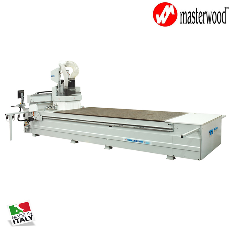 Woodworking CNC machines from Masterwood - Italy